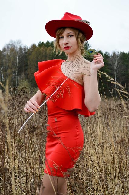 jaki kolor paznokci do czerwonej sukienki