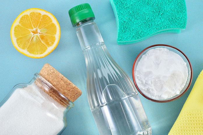 Domowe detergenty do czyszczenia kuchni i łazienki